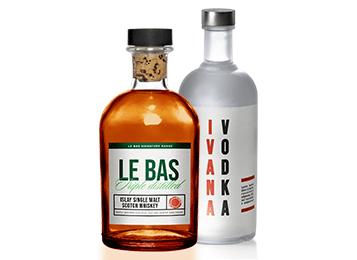 Liquor hub tile