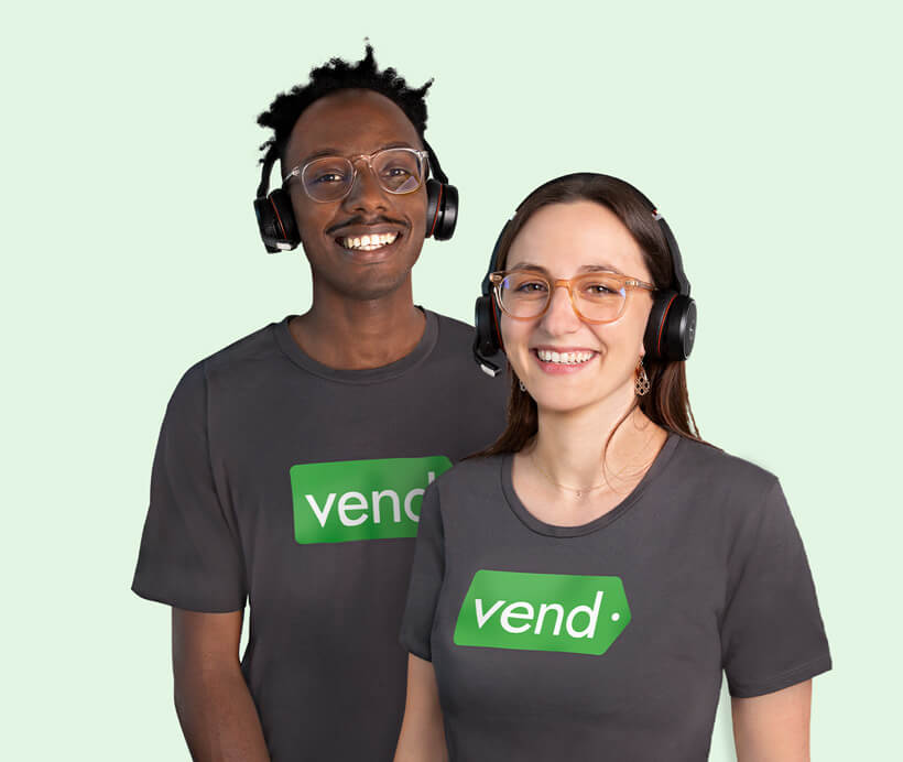 Why Vend support
