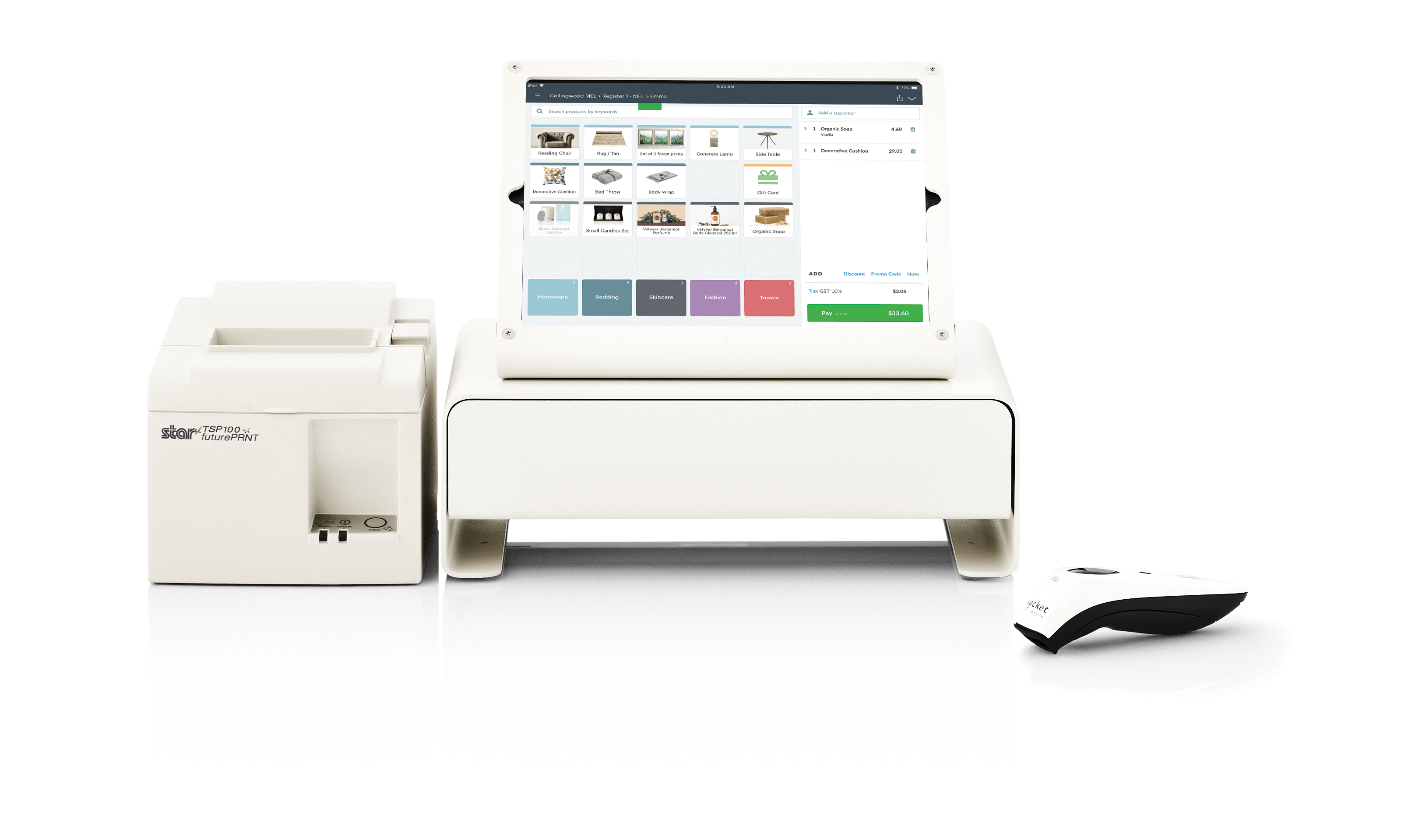 Hardware Combo Printer Scanner