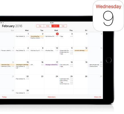 I Pad Calendar