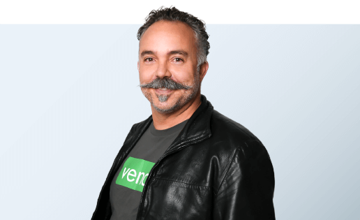 Vaughan Rowsell Blue Lightbox