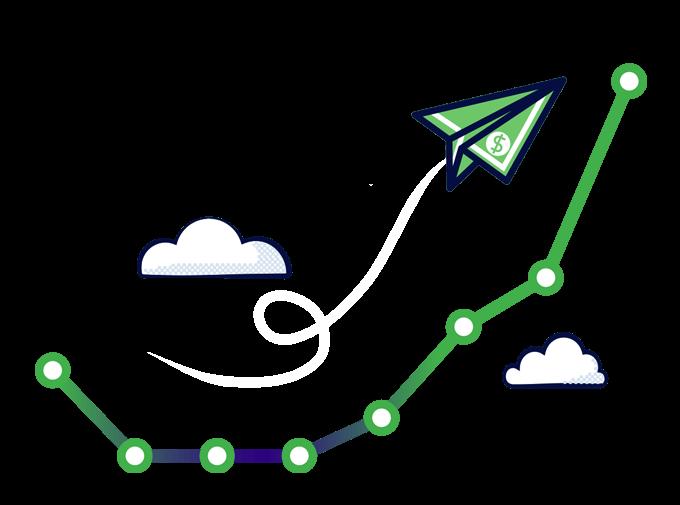 Homepage graph mobile