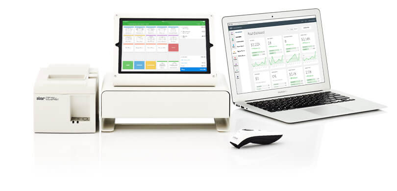 Hardware setup for Vend web POS software