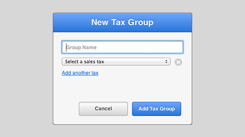 Easy to use tax settings in Vend's point of sale software system.
